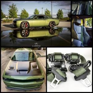 Seatbelt Planet - 2016-2019 Dodge Challenger, Driver and Passenger - Image 6