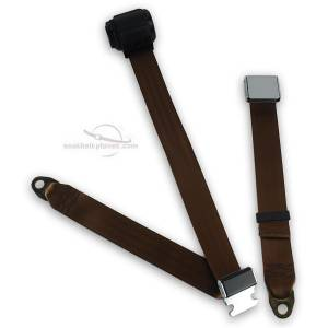 1965-1975 MGB Lift Latch Retractable Lap & Shoulder Seat Belt