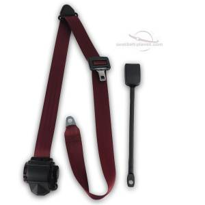 Seatbelt Planet - 1958-1971 Austin Healey Sprite End Release Retractable Lap & Shoulder Seat Belt