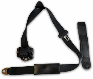 Seatbelt Planet - 1955-1962 MGA End Release Retractable Lap & Shoulder Seat Belt