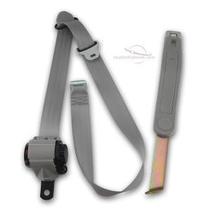Ford - Bronco - Seatbelt Planet - 1992-1996 Ford Bronco Driver or Passenger Bucket Seat Belt Kit