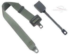 Shop by Industry - RV - Seatbelt Planet - 2-Point Lap Seat Belt End Release Cable or Bracket Buckle