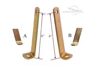 Seatbelt Planet - 6 Inch Angle Bracket