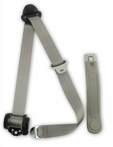 Seatbelt Planet - 1992-1996 Ford F-Series, Crew Cab, Driver or Passenger, Bucket (with Console) Seat Belt