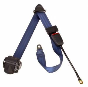 Seatbelt Planet - 3-Point Lap/Shoulder Retractable Seat Belt End Release Cable or Bracket Buckle