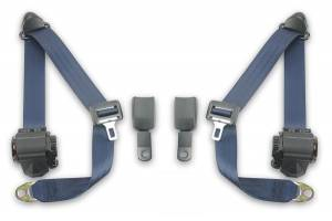 Seatbelt Planet - 1972-1984 Mercedes-Benz 350 SL Front Seat Belt Kit