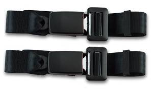 Seatbelt Planet - 1968-1976 BMW E10, Rear Driver & Passenger Seat Belt Kit