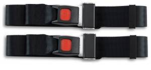 Seatbelt Planet - 1973-1980 Ferrari 308GT4, Rear Driver & Passenger Seat Belt Kit