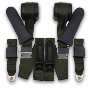 Dodge - Truck/Van - Seatbelt Planet - 1968-1970 Dodge A100 Cabover Pickup Truck/Van Driver & Passenger Seat Belt Conversion Kit
