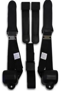 1969-1970 Valiant VG Driver, Passenger & Center Seat Belt Conversion Kit
