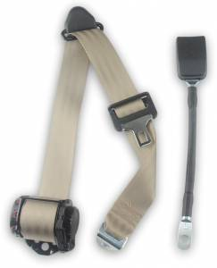 1993-1997 Mazda B Series Pickup, Extended Cab, Driver Seat Belt