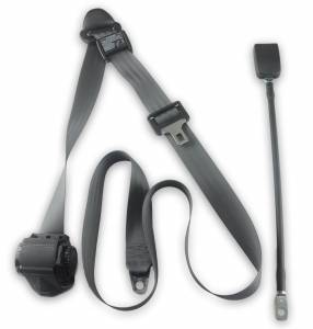 "Emergency Vehicles - International - Seatbelt Planet - 1990-2002 International 4700, Driver or Passenger Seat Belt with 20"" Cable Buckle"