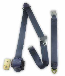 Seatbelt Planet - 1987-1991 Ford F-Series, Crew Cab, Driver or Passenger, Bench Seat Belt