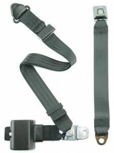 AMC - Javelin - Seatbelt Planet - 1971-1973 AMC Javelin, Driver & Passenger, Bucket Seat Belt Kit,Type 2A Retractable Lap & Shoulder Seat Belt Kit