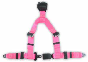 Seatbelt Planet - 4-point Retractable Y Harness with End Release Buckle