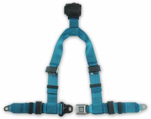 Seatbelt Planet - 4-point Retractable Y Harness with All Metal Buckle