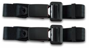 Seatbelt Planet - 1968-1973 Datsun 510, Rear Driver & Passenger Seat Belt Kit