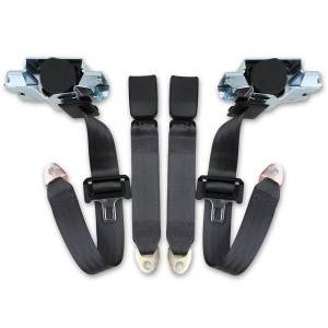 Camaro - Camaro OE Style, Direct Fit - Seatbelt Planet - 1993-2002 Chevy Camaro Front Seat Belt Kit