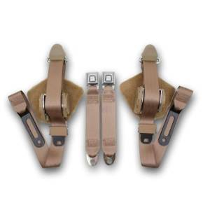 Seatbelt Planet - 1984-1996 Chevy Corvette Convertible Retractable Lap & Shoulder Seat Belt Kit