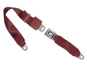 Tri-Five - 1955-57 Tri-Five Lap Belts - Seatbelt Planet - 1955-1957 Chevy Tri-Five, Front, Bench Seat Belt
