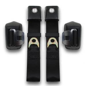 Seatbelt Planet - 1968-1977 Ford Bronco Retractable Lap Seat Belt Kit