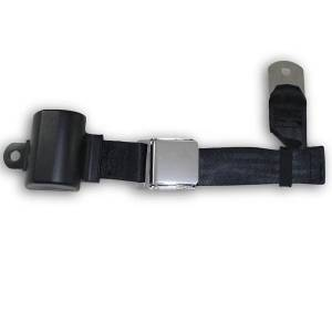 Seatbelt Planet - 1964-1973 Ford Mustang Retractable Lap Seat Belt