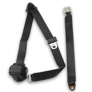 Seatbelt Planet - 1993-1997 Ford Ranger Standard Cab, Driver or Passenger, Bench Seat Belt