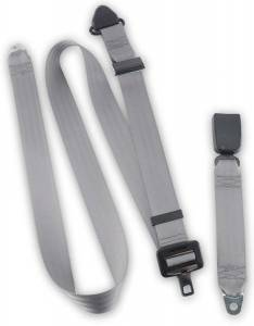 Seatbelt Planet - 1985-1987 Toyota Land Cruiser FJ60, Rear Driver or Passenger Seat Belt