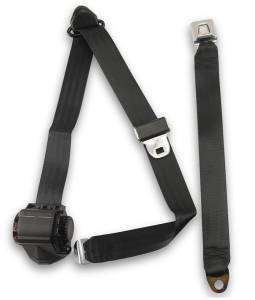 Seatbelt Planet - 1983-1986 Ford Ranger Standard Cab, Driver or Passenger, Bench Seat Belt