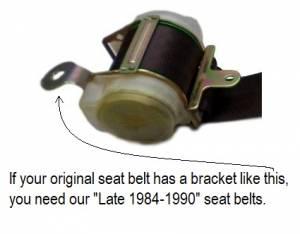 Late 1984-1990 retractor bracket