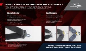 Seatbelt Planet - Rewebbing - Dual Retractor Seat Belt - Image 2