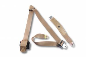 1992-1996 Ford F-Series Crew Cab Seat Belt, Rear Driver or Passenger